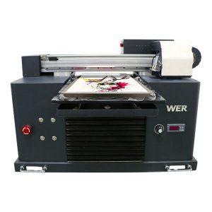 Impressora de samarreta plana d'alta qualitat dtg a3 per a la impressió de peces negres