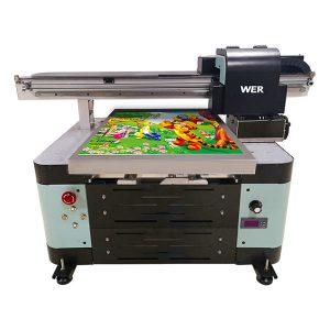 Impressora plana de mida uv A2 per a caixa metàl·lica / telèfon / vidre / bolígraf / tassa