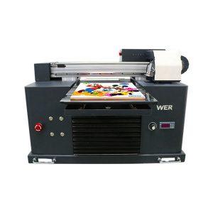 A3 mida complet automàtica de 4 colors dx5 impressora capçal mini impressora uv dtg uv flatbe
