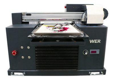 Impressora de samarreta dtg de tipus llit multicolor a3 de mida multicolor