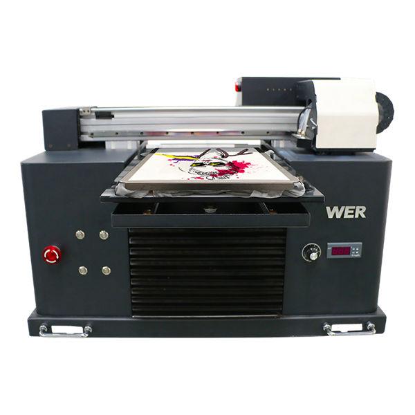Vuit colors barats a estampació digital de samarretes digitals dtg 3D per a roba, impressores de teixit pla de venda