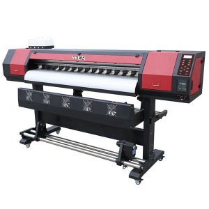 Impressora de dissolvent ecològic de capçal d'impressió de vinil dx5 de 1.8m de gran format