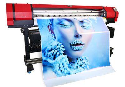 1.6 m impressora de vinil de pvc ecològica interior amb dissolvent a l'aire lliure