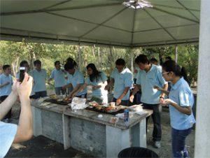 Barbacoa a Gucun Park, tardor del 2014