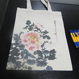 Impressió de bossa de lona amb impressora de samarretes A2 WER-D4880T