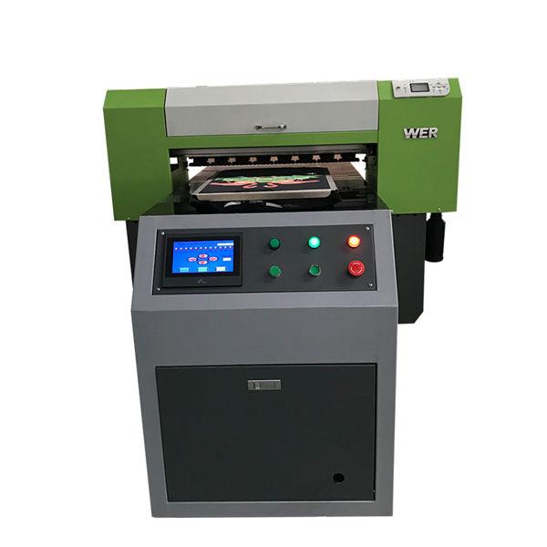 La millor venda de samarretes impressora de tela plana impressora de roba acrílica Màquina plana d'impressió