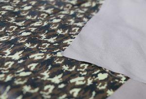 Mostra d'impressió tèxtil 1 mitjançant màquina digital d'impressió tèxtil WER-EP7880T